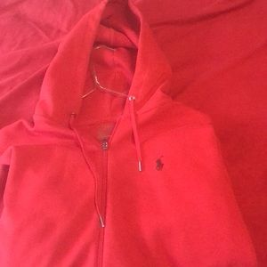 Polo Ralph Lauren Hoodie (Red)